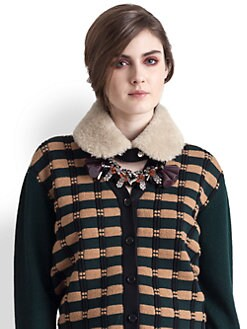 Marni - Shearling Collar