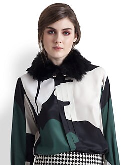 Marni - Lamb Shearling Collar