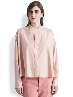 Marni - Cotton Poplin Trapeze Shirt