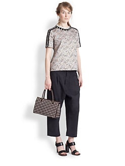 Marni - Embellished Jacquard Top
