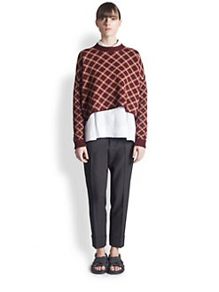 Marni - Intarsia-Knit Wool Sweater