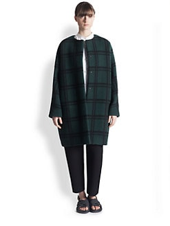 Marni - Checked Wool Coat