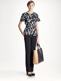 Marni - Belted Printed Top