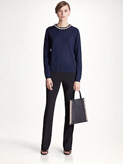 Marni - Jeweled Cashmere Sweater