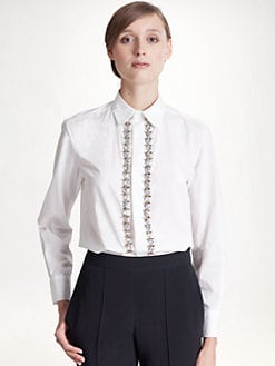 Marni - Jeweled Blouse