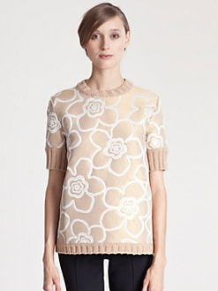 Marni - Jacquard Panel Sweater