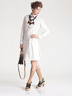 Marni - Beaded Shirtdress