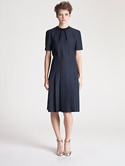 Marni - Pleated Jacquard Dress