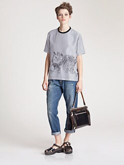 Marni - Striped Cat Top