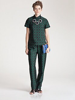 Marni - Checkerboard Top