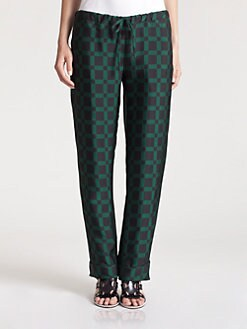 Marni - Checkerboard Pajama Pants