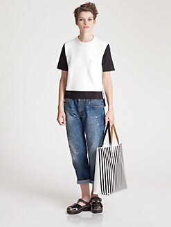 Marni - Melange Jersey Top