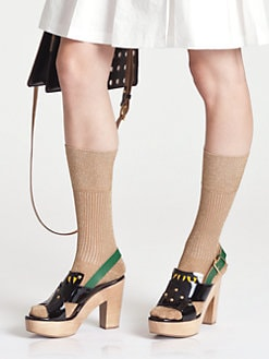 Marni - Gold Socks