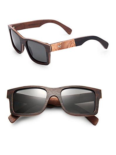 Haystack Maple Burl Sunglasses