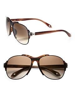 Givenchy - Metal and Resin Aviator Sunglasses