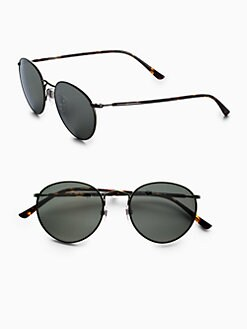 Polo Ralph Lauren - Small Round Sunglasses/Green Frames