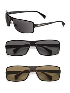 Giorgio Armani - Metal Shield Sunglasses