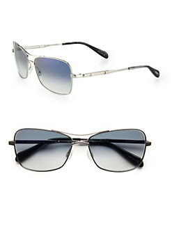 Oliver Peoples - Sanford Metal Sunglasses