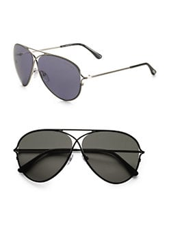 Tom Ford Eyewear - Peter Aviator Sunglasses