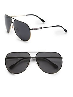 D&G - Full-Rim Metal Aviator Sunglasses