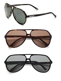 Dolce & Gabbana - Acetate Aviator Sunglasses