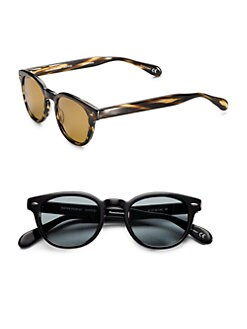 Oliver Peoples - Sheldrake Vintage Round Sunglasses