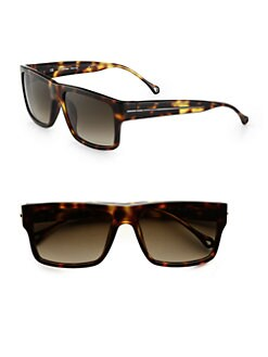 Ermenegildo Zegna - Resin Wayfarer Sunglasses