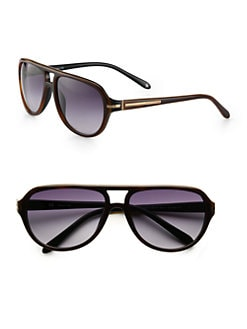 Givenchy - Resin Aviator Sunglasses