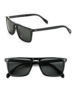 Oliver Peoples - Bernardo Square Sunglasses/Black