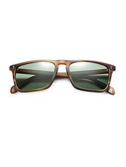 Oliver Peoples - Bernardo Square Sunglasses/Cocobolo
