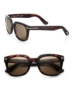 Tom Ford Eyewear - Campbell Retro Wayfarer Sunglasses