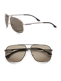 Carrera - Double-Bridge Navigator Sunglasses