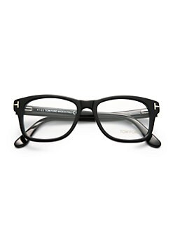 Tom Ford Eyewear - Wide Square Optical Frames/Black