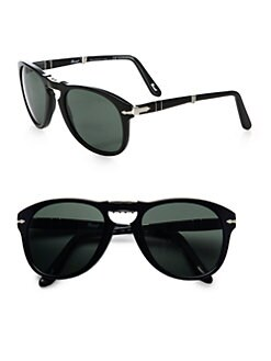 Persol - Vintage Folding Keyhole Sunglasses