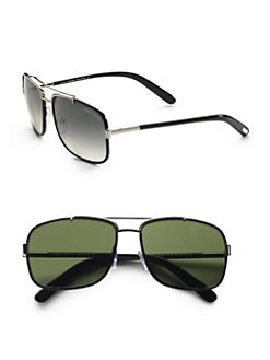 Tom Ford Eyewear - Navigator Metal Sunglasses