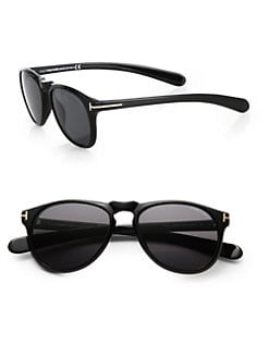 Tom Ford Eyewear - Wayfarer-Inspired Plastic Sunglasses