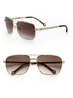 Ermenegildo Zegna - Metal Navigator Sunglasses