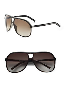 Dior Homme - Acetate Aviator Shield Sunglasses