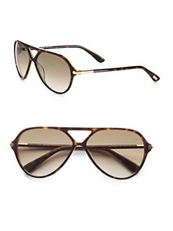 Tom Ford Eyewear - Leopold Aviator Sunglasses