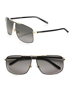 Gucci - Metal Navigator Sunglasses