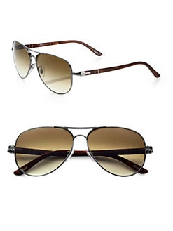Persol - Classic Aviator Sunglasses