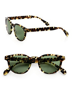 Oliver Peoples - Sheldrake Plastic Sunglasses