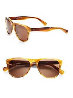 Paul Smith - Kaiv Plastic Sunglasses/Dark Mahogany