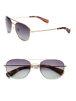Paul Smith - Callum Metal Aviators/Brushed Gold
