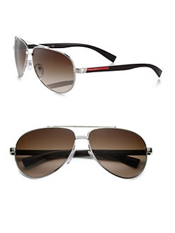 Prada - Metal Aviator Sunglasses