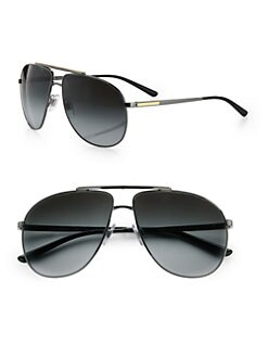 Dolce & Gabbana - Metal Aviator Sunglasses