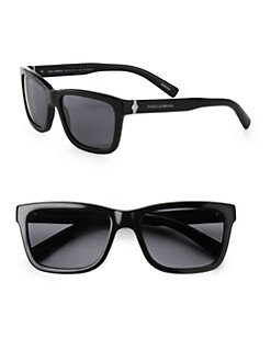 Dolce & Gabbana - Plastic Flat-Top Wayfarers