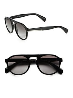Prada - Plastic Keyhole Sunglasses