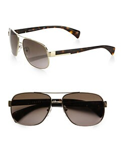 Prada - Classic Metal Pilot Sunglasses