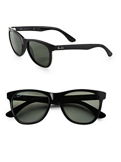 Ray-Ban - Oversized Plastic Wayfarer Sunglasses
